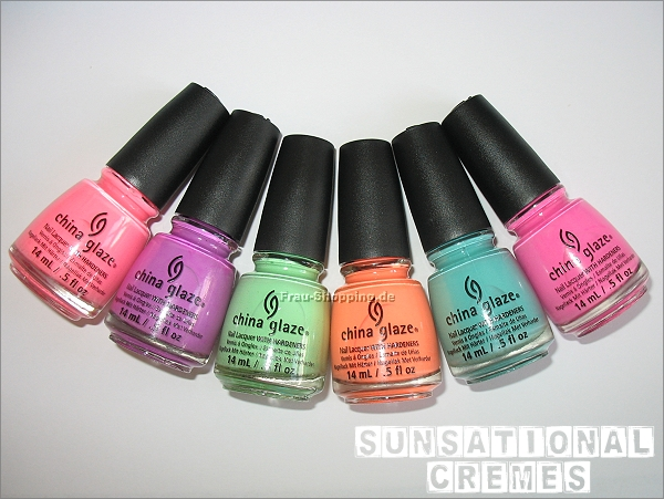 China Glaze Sunsational Creme Lacke
