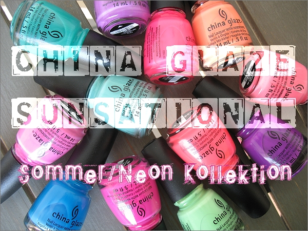 China Glaze Sunsational Kollektion