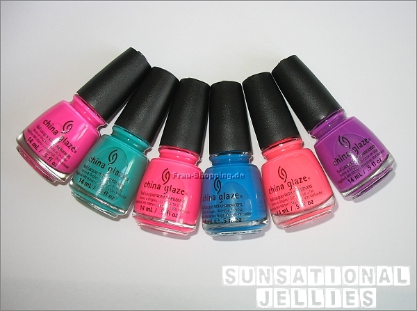 China Glaze Sunsational Jelly Lacke