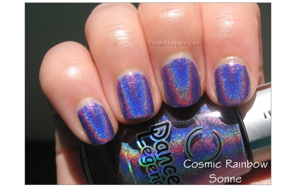 Dance Legend Cosmic Rainbow Swatch