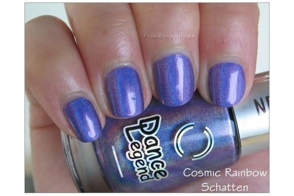 Dance Legend Cosmic Rainbow Swatch im Schatten