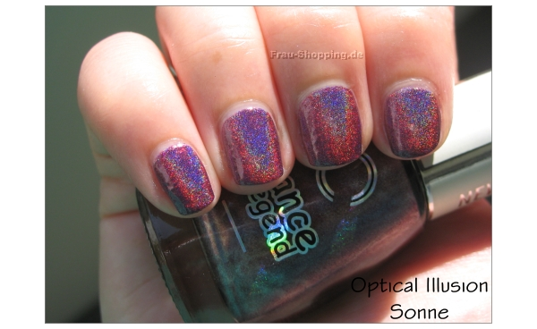 Dance Legend Optical Illusion Swatch