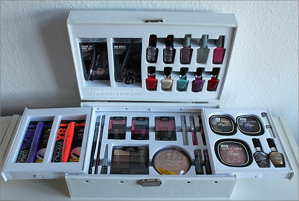 Der tolle wet n wild Make-up Koffer