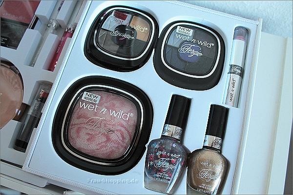 Fergie Produkte sind im wet n wild Make-up Koffer auch vorhanden