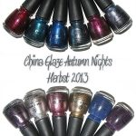 China Glaze Autumn Nights Herbst-Kollektion 2013
