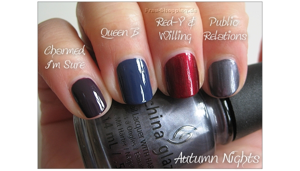 China Glaze Autumn Nights Cremes