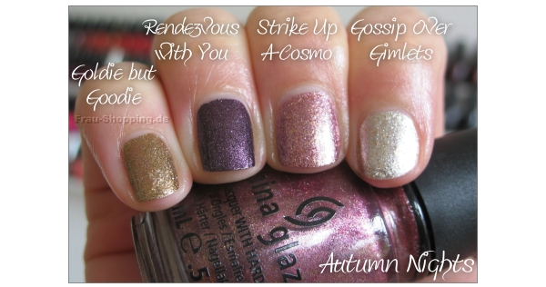 China Glaze Autum Nights Foil Lacke