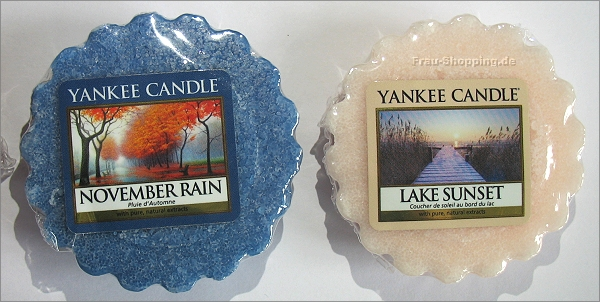 Yankee Candle Herbstdüfte 2013 - November Rain und Lake Sunset