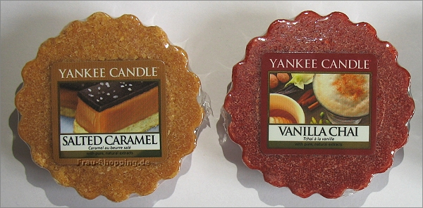 Yankee Candle Herbstdüfte 2013 - Salted Caramel und Vanilla Chai