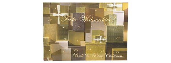 Bath & Body Collection Adventskalender 2013