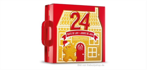 Adventskalender von The Body Shop 2013