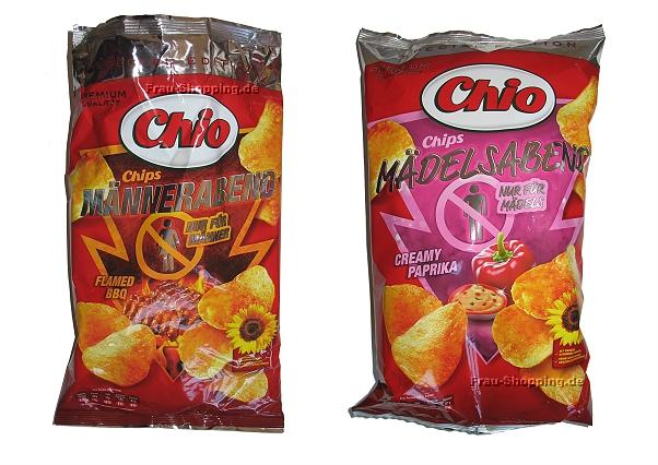 Chio Chips Männerabend und Mädelsabend