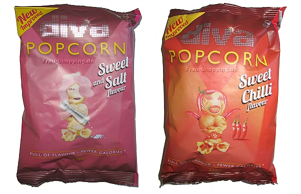 Diva Popcorn Sweet Salt und Sweet Chili