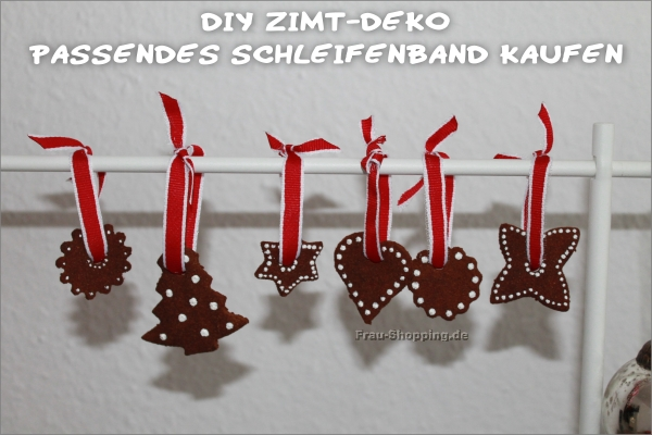 DIY:  fertige Zimt-Deko