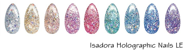Isadora Holographic Nails LE