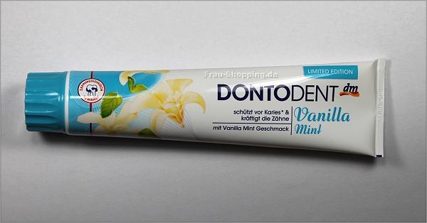 Dontodent Vanilla Mint Zahnpasta