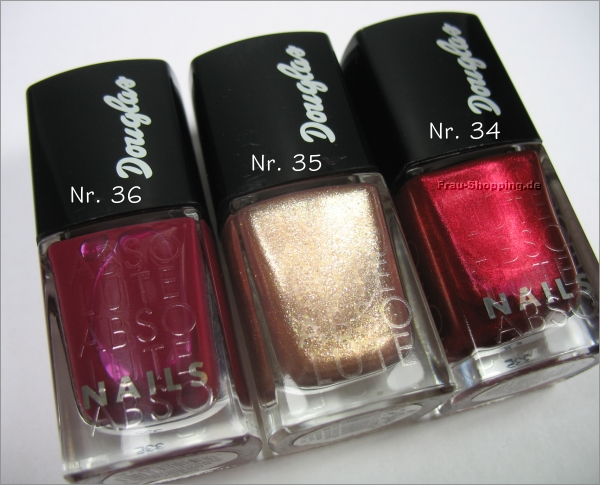 Douglas Absolute Xmas Look 2013 In Love with... Nagellacke