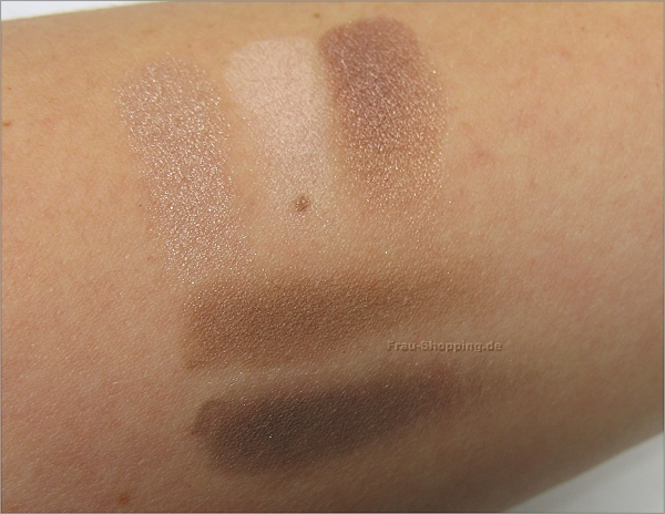 NYX Love in Florence Lidschatten Palette Meet My Romeo Swatches