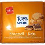 Ritter Sport Karamell + Keks und Ritter Sport Vanille-Mousse