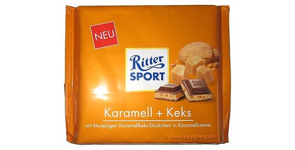 Ritter Sport Karamell + Keks