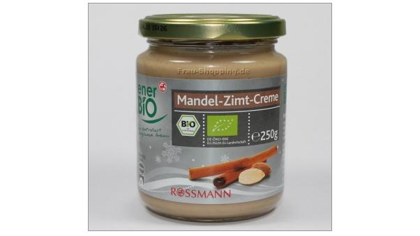 Rossmann: enerBio Mandel-Zimt-Creme