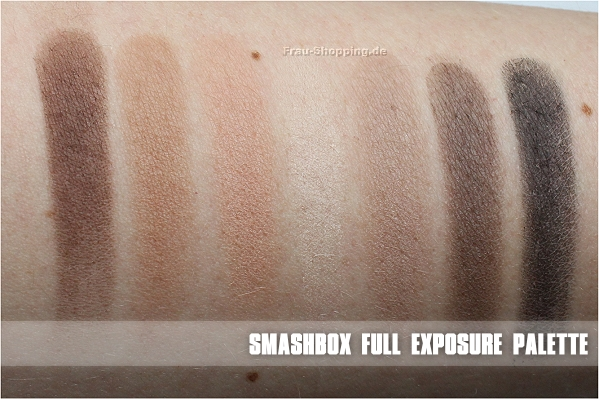 Smashbox Full Exposure Palette - die matten Lidschatten