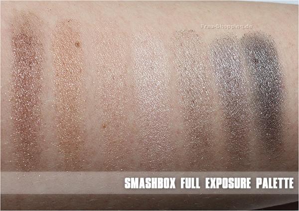 Smashbox Full Exposure Palette - die Schimmer und Glitter Lidschatten