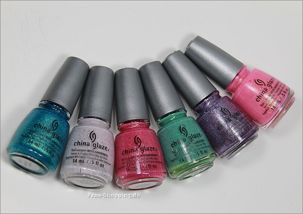 China Glaze Sea Goddess Kollektion