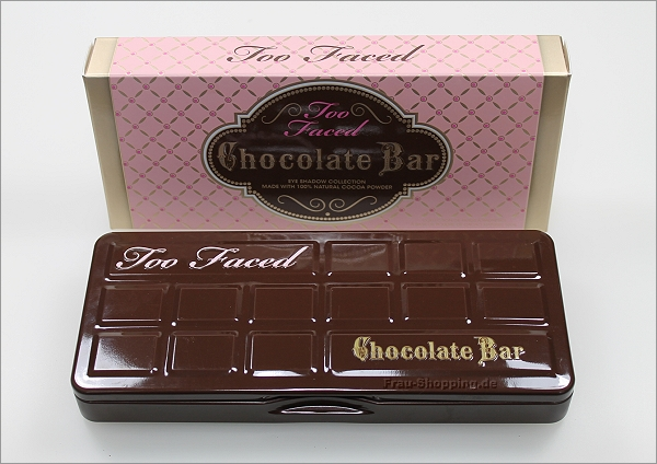 Mein Mallorca Einkauf - Too Faced Chocolate Bar Palette