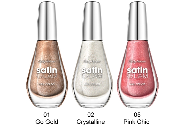 Sally Hansen Satin Glam Kollektion