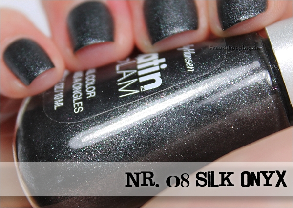 Sally Hansen Satin Glam Nr. 08 Silk Onyx