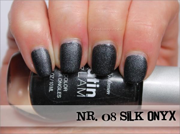 Sally Hansen Satin Glam Nr. 08 Silk Onyx