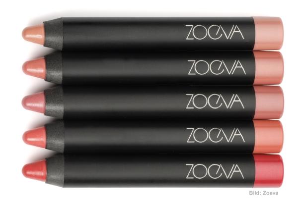 Die neuen Lip Crayons von Zoeva