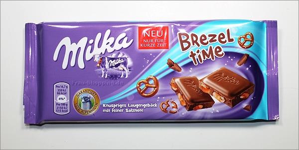 Milka Brezel Time