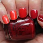 Frisch lackiert: OPI Red Ombre
