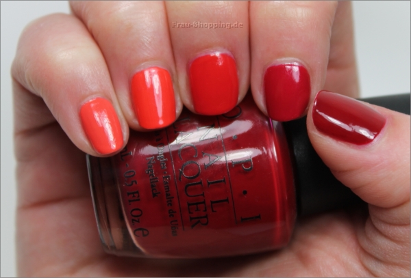 OPI Red Ombre