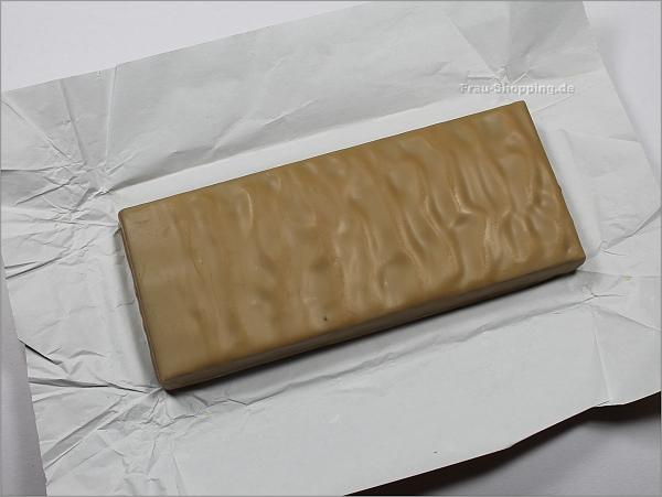 Zotter Karamell Nougat Fudge ausgepackt