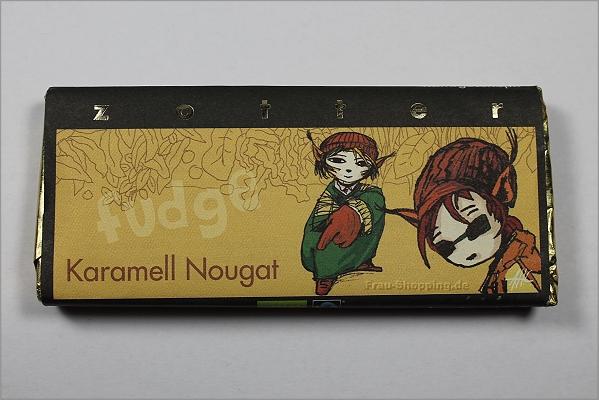 Zotter Karamell-Nougat Fudge