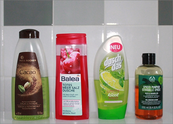 Aus eminem Einkaufswagen - die Duschgel-Edition