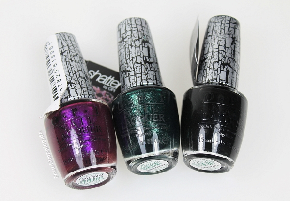 OPI Crackle Nagellacke von Action