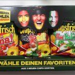 funny frisch: Chipsfrisch Chipswahl 2014 mit Spanien, Deutschland und Italien