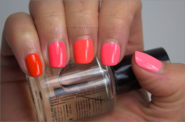 Falsches Neon Ombre