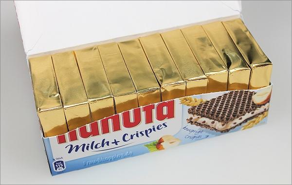 Hanuta Milch + Crispies