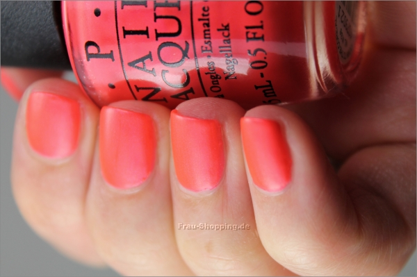 Frisch lackiert: OPI Down To The Core-al