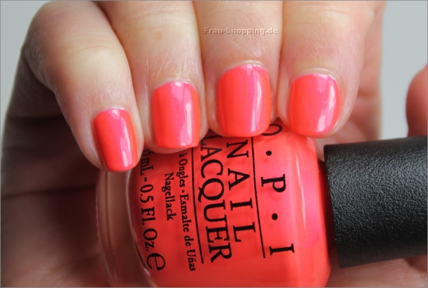 OPI Down To The Core-al mit Topcoat