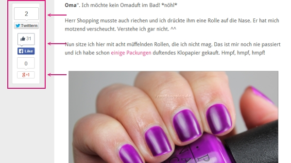 Neues Bloggesign Screenshot 4
