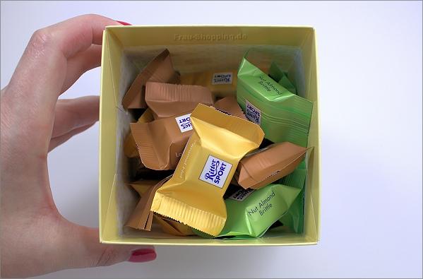 Ritter Sport Schokowürfel weiße Schokolade