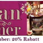 20% Rabatt auf Yankee Candle Herbstdüfte bei Sunflower Design