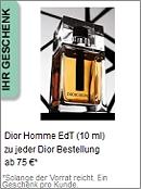 Gratis Geschenk von Dior
