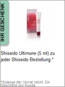 Gratis Geschenk von Shiseido
